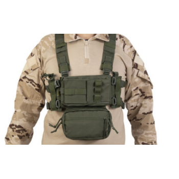 CHALECO CHEST RIG TASK VERDE