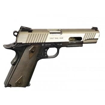 PISTOLA 1911 RAIL GUN CYBERGUN TAN (180531)