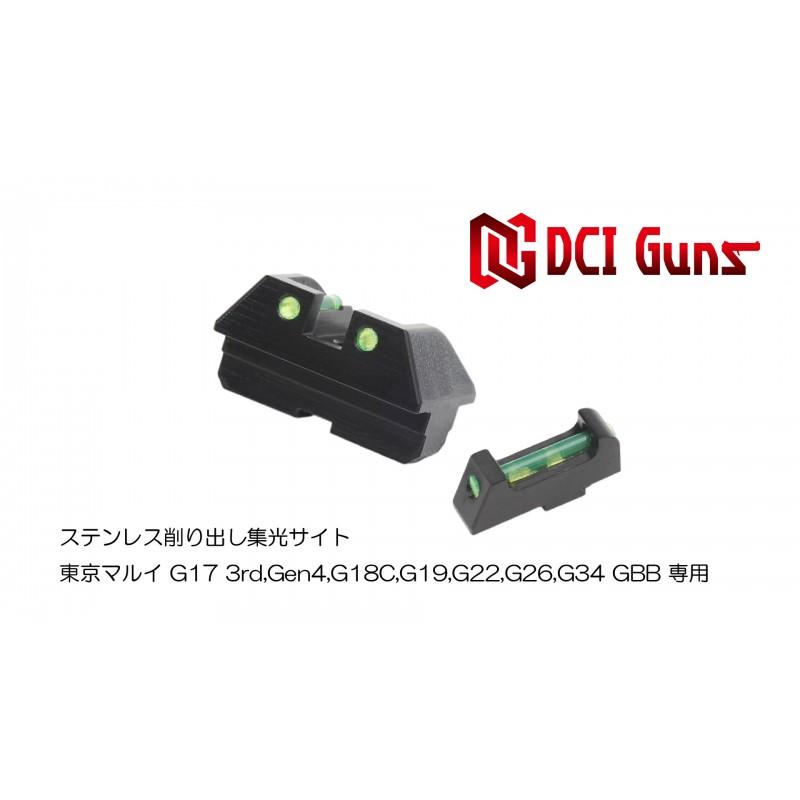 ALZAS DE MIRA GAMA G17/G18C/19/22  DCI GUNS