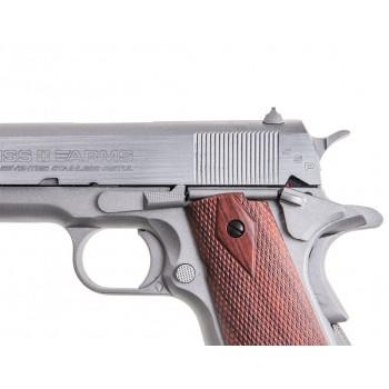 PISTOLA 1911 CO2 4.5MM ANIVERSARIO SWISS ARMS PLATA