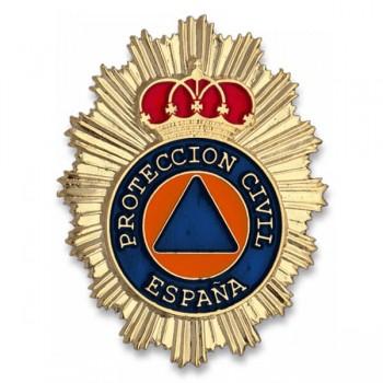 PLACA CARTERA METÁLICA PROTEC. CIVIL ESPAÑA