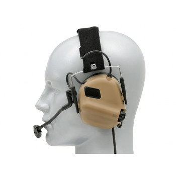 AURICULARES HEADSET M32 MOD3 EARMOR TAN