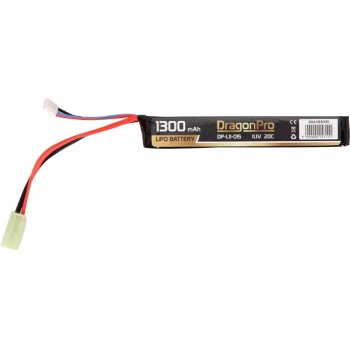 DRAGONPRO DP-L11-015 11.1V 1300mAh 20C LiPO 130x21x18mm
