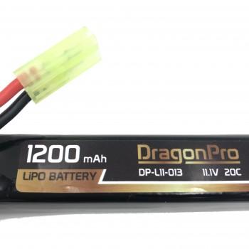 copy of DRAGONPRO DP-L11-027 11.1V 1300mAh 15C LiPO (1+1+1) 95x20x7mm
