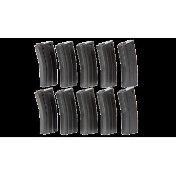 CARGADOR FUSIL M4 ASG 30 BOLAS PACK 10 UDS GRIS