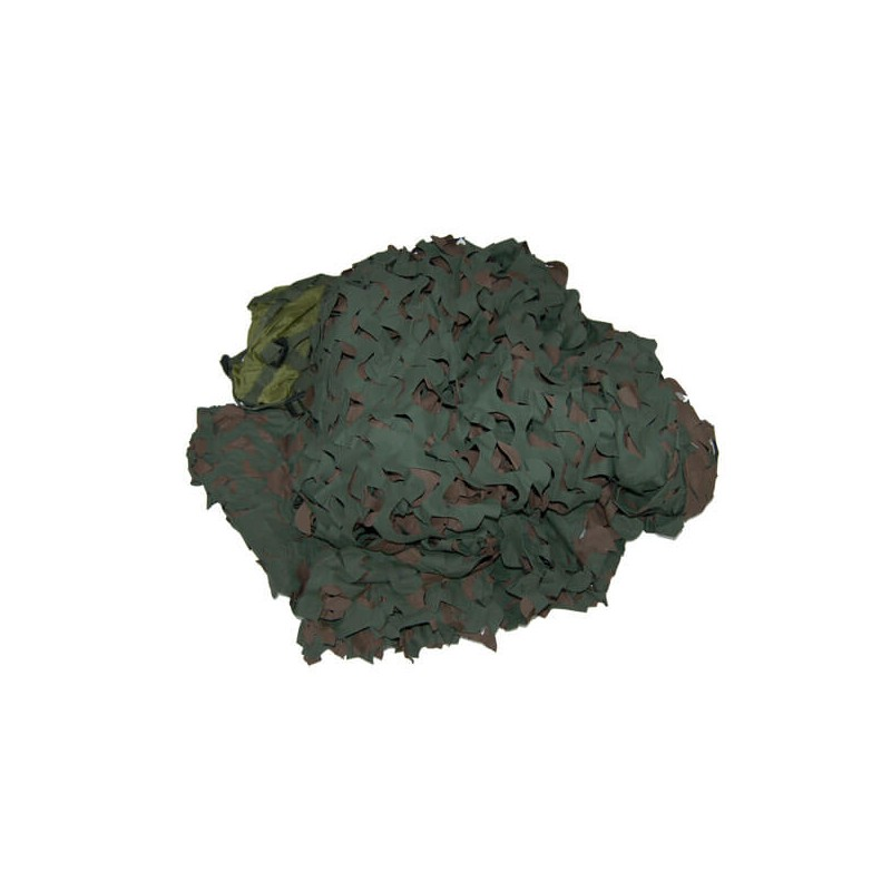 RED CAMO 3M X 2,4M WOODLAND