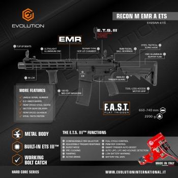 EVOLUTION - FUSIL M4 RECON M EMR A ETS