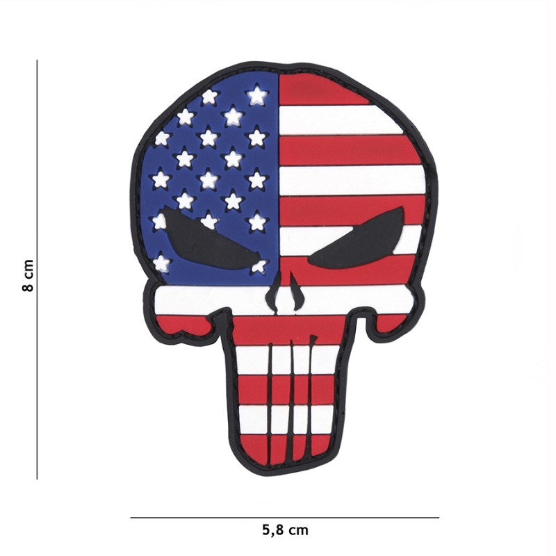 PARCHE PVC PUNISHER USA