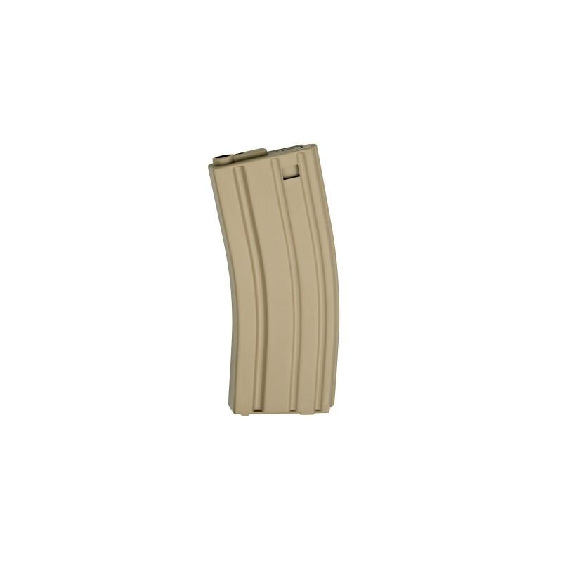 CARGADOR M4 REAL-CAP PVC 30BBS ASG TAN
