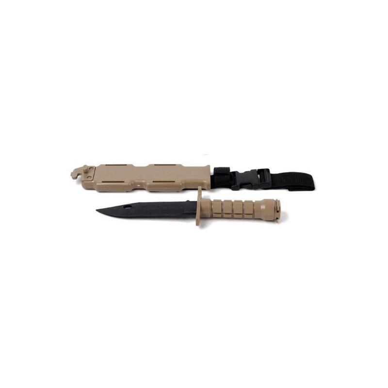 BAYONETA PVC AIRSOFT M9 TAN
