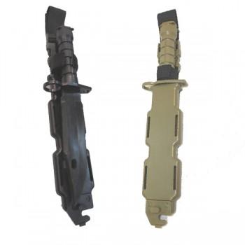 BAYONETA PVC AIRSOFT M9 NEGRO
