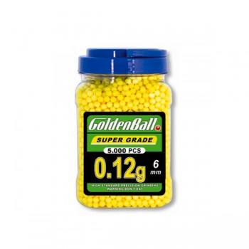 BOTE BOLAS 0.12G 5000UNI AMARILLO