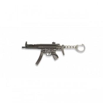 LLAVERO FUSIL MP5 PLATA