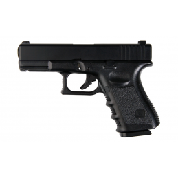 KJ WORKS G23 Gas BlowBack (ABS Slide) NEGRO