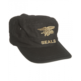 GORRA BLACK SEAL MIL-TEC NEGRO