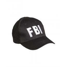 "GORRA DE BEISBÓL ""FBI"" MIL-TEC NEGRO"