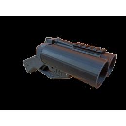 Lanza granadas de doble cañón