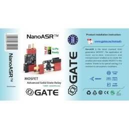 MOSFET NANOASR GATE NEGRO