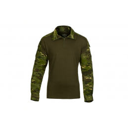 CAMISETA DE COMBATE INVADER GEAR MULTICAM TROPIC