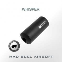 SILENADOR WHISPER.45 ACP COMPACT MADBULL NEGRO