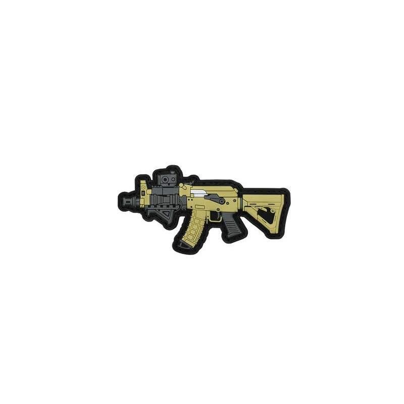 PARCHE PVC AK47 SPETNAZ FMA BEIGE