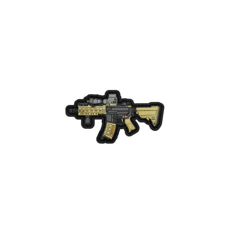 PARCHE PVC HK416 DELTA FMA BEIGE