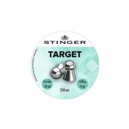 BALIN TARGET 5.5 MM 250UND STINGER PLATA