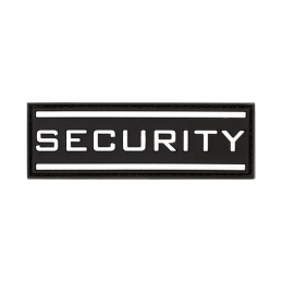 PARCHE PVC SECURITY NEGRO