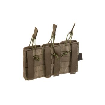 PORTA CARGADOR TRIPLE 5.56 INVADER GEAR RANGER GREEN
