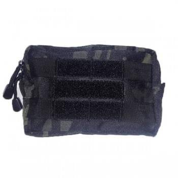 BOLSILLO POCKET RECTANGULAR FORAVENTURE MULTICAM BLACK
