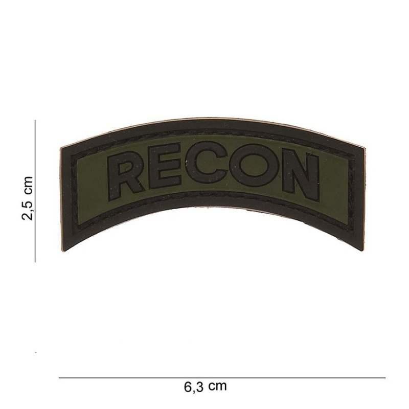 PARCHE PVC TIRA RECON VERDE