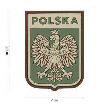 PARCHE PVC POLSKA VERDE
