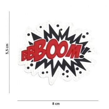 PARCHE PVC BBBOOM! BLANCO