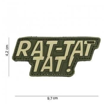 PARCHE PVC RAT-TAT TAT! VERDE