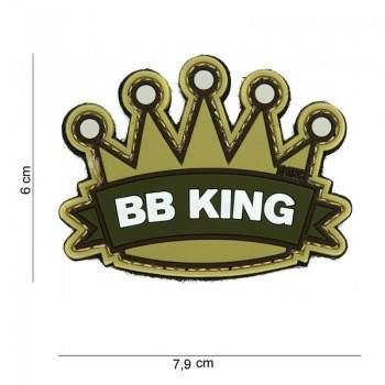 PARCHE PVC BB KING MULTICAM