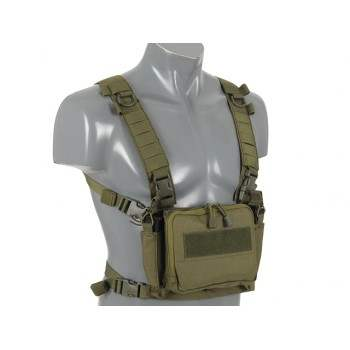 CHEST RIG COMPACTO MULTI MISION 8FIELDS VERDE