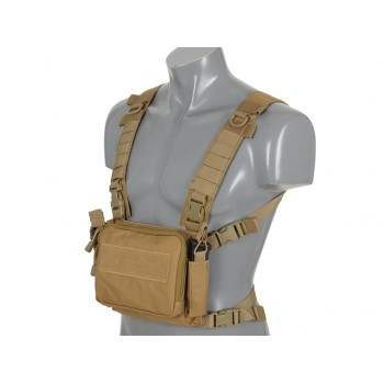 CHEST RIG COMPACTO MULTI MISION 8FIELDS TAN