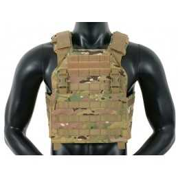 CHALECO ASALTO BUCKLE UP 8FIELDS MULTICAM