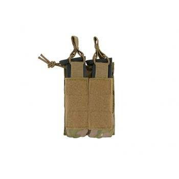 PORTA CARGADOR OPEN TOP DOBLE PISTOLA 8FIELDS MULTICAM