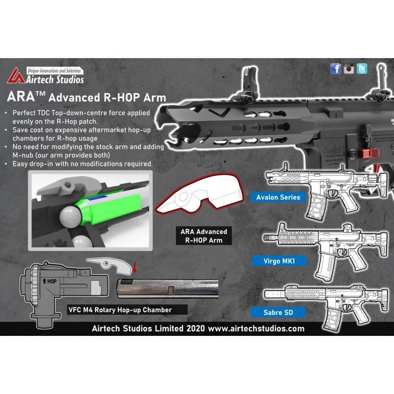 BRAZO R-HOP (MODIFIED R-HOP ARM) AIRTECH STUDIOS NEGRO