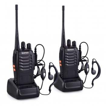 WALKIE BAOFENG PACK 2 UNID.BF-888S NEGRO