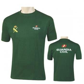 CAMISETA GUARDIA CIVIL GENERICA COLORES VERDE