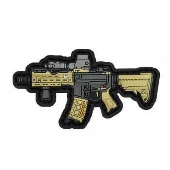PARCHE PVC HK416 DELTA BEIGE