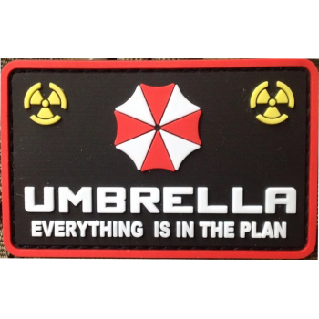 PARCHE PVC UMBRELLA EVERYTHING IS IN THE PLAN NEGRO