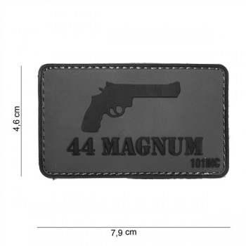 PARCHE PVC 44 MAGNUM GRIS/NEGRO