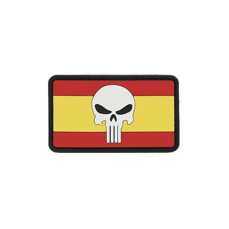 PARCHE PVC PUNISHER BANDERA ESPAÑA
