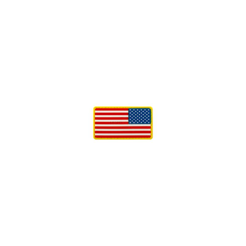 PARCHE PVC BANDERA EEUU DER. ORIGINAL