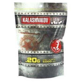 BOLAS KALASHNIKOV 0.20G 5000 BBS BLANCO