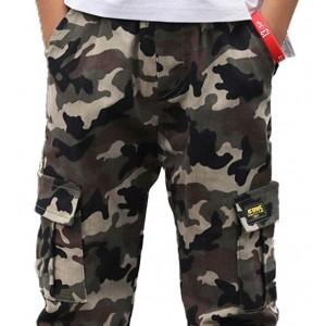 pantalon niño militar